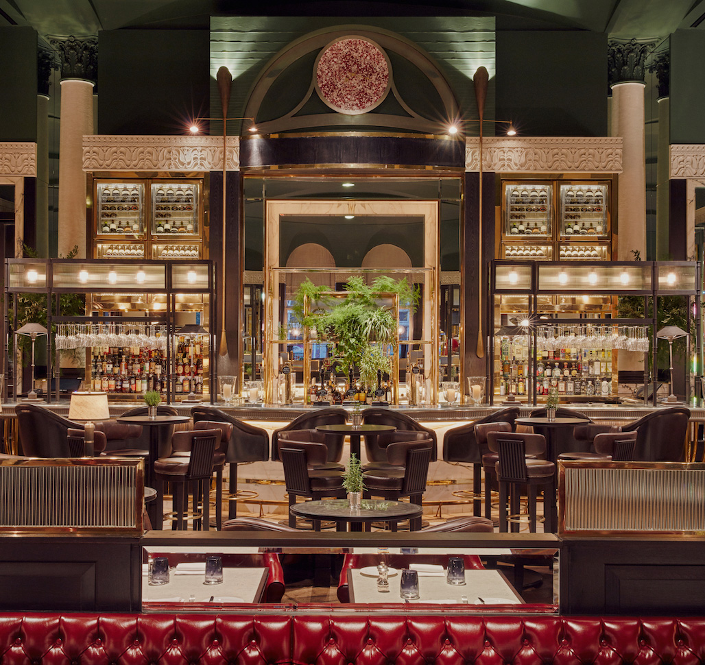 Interior Tom Kerridge's Bar & Grill im Hotel Carinthia London