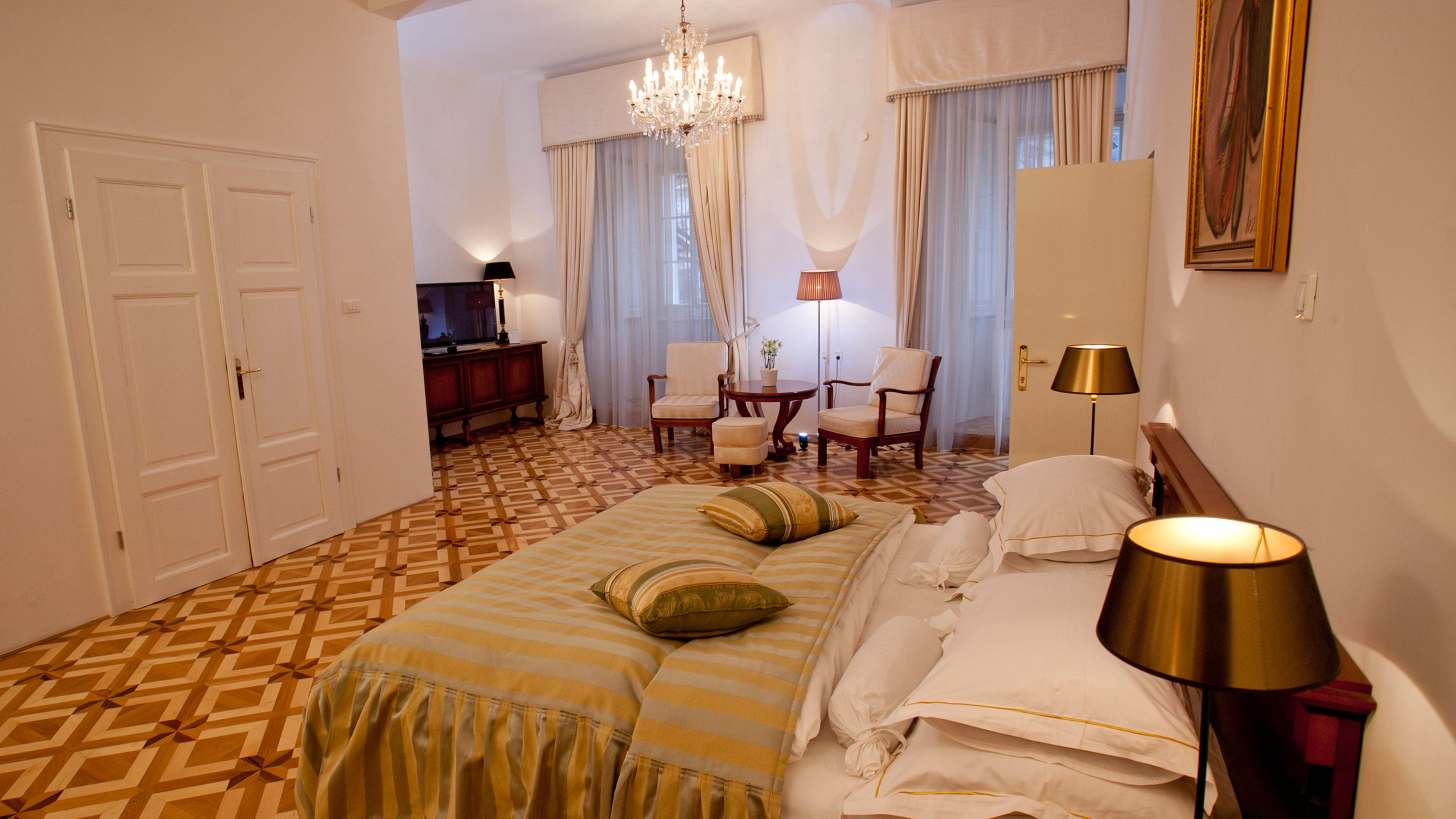 Room Antiq Palace Hotel Boutiquehotel in Ljubljana