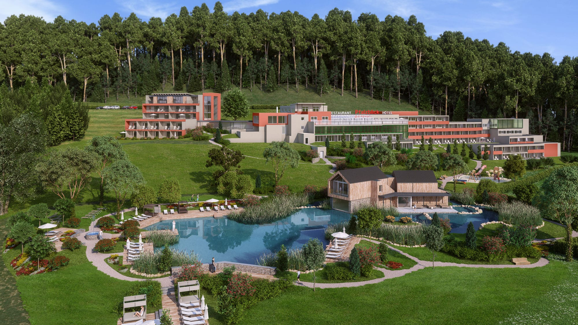 Wellnesshotel in der Pfalz: Pfalzblick Wald Spa Resort in Dahn