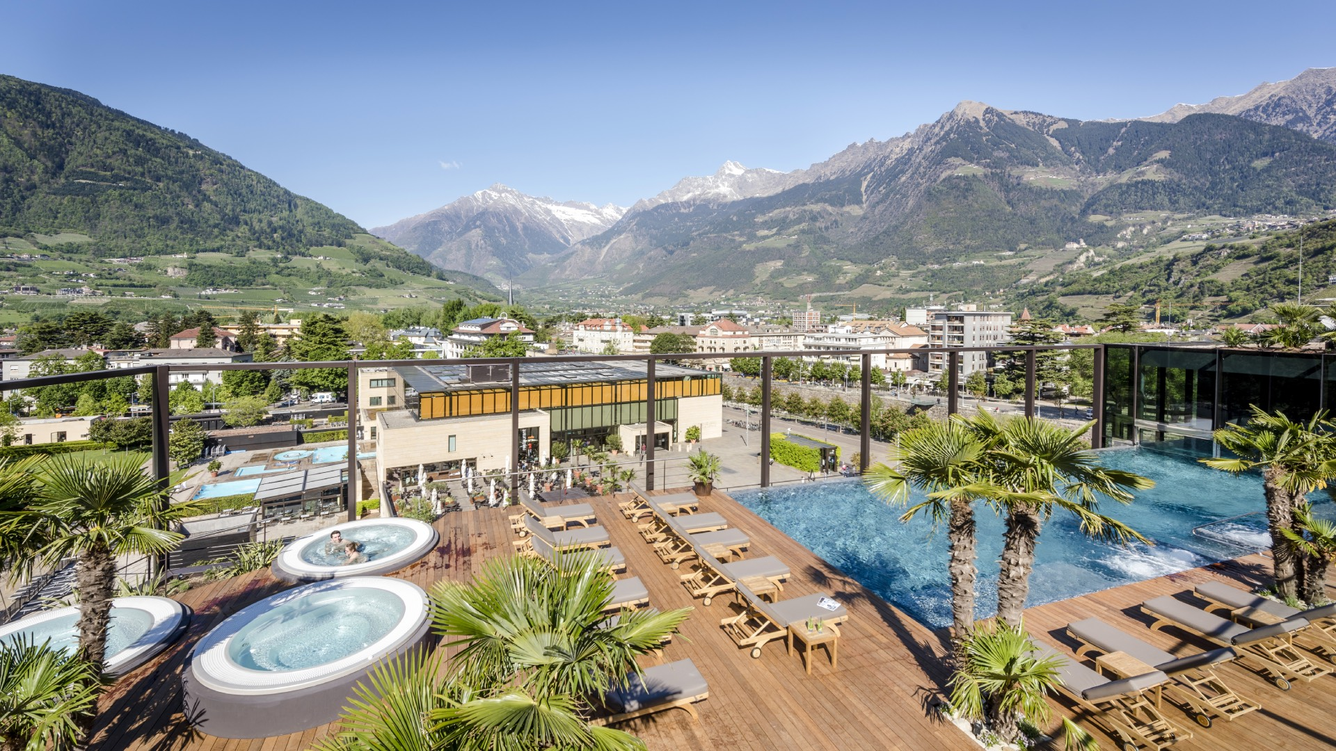 Wellnesshotel in Meran Südtirol Hotel Therme Meran